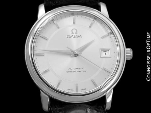 Omega De Ville Prestige Mens Chronometer Dress Watch with Date, 4800.31.01 - Stainless Steel