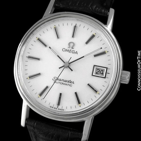 1979 Omega Vintage Seamaster Mens Watch, Automatic, Date - Stainless Steel