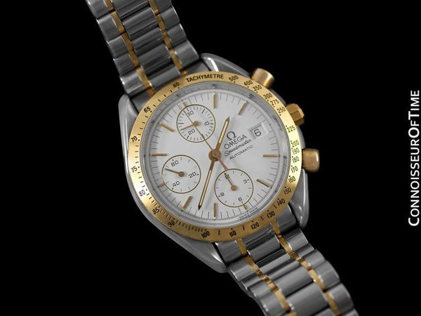 Omega Speedmaster Automatic Chronograph Watch - Stainless Steel & Solid 18K Gold