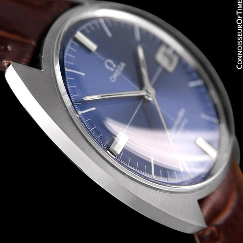 1960's Omega Vintage Mens Seamaster Cosmic Retro Handwound Watch - Stainless Steel