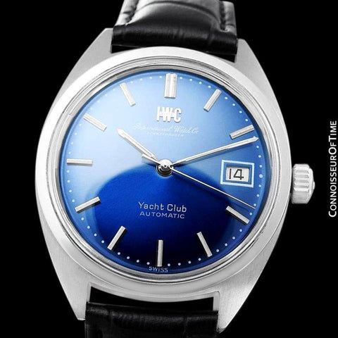 1967 IWC Yacht Club Vintage Large Mens Watch, Cal. 8541 Automatic- Stainless Steel