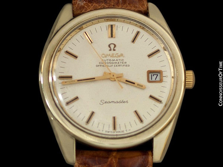 1969 Omega Seamaster Chronometer Large Vintage Mens Cal 564 Watch