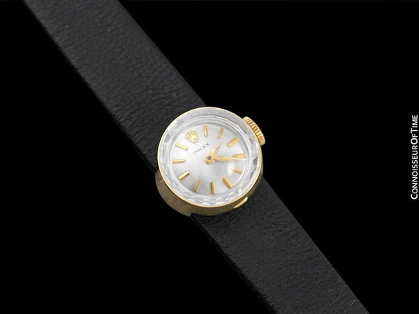 1960's Rolex Vintage Ladies Watch, 18K Gold - The Chameleon
