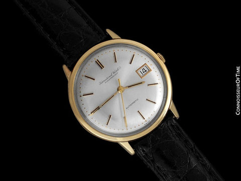 1964 IWC Vintage Full Size Mens Watch, Cal. 8541 Automatic with Date - 18K Gold