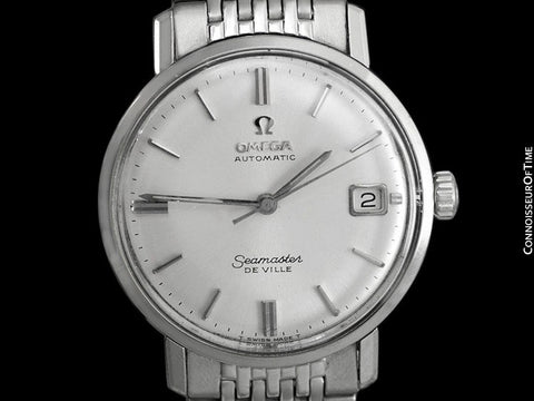 1967 Omega Seamaster DeVille Vintage Mens Rare Cal. 560 Watch, Date - Stainless Steel
