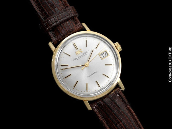 1971 IWC Vintage Full Size Mens Watch, Cal. 8541B Automatic with Date - 18K Gold