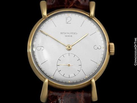 1944 Patek Philippe Vintage Mens Watch, Ref. 1543, 18K Gold - Less Than 30 Known To Exist