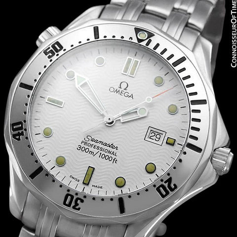 Omega Seamaster 300M Professional Diver (James Bond) Full Size Stainless Steel Watch - 2542.20.00