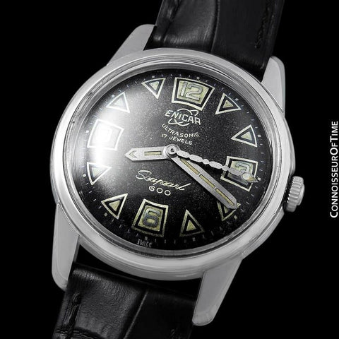 1958 Enicar Seapearl 600 (Sherpa) Mens Vintage Explorers & Divers Watch - Stainless Steel
