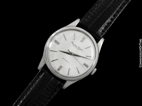 1959 IWC Vintage Mens Watch, Cal. 853 Automatic - Stainless Steel