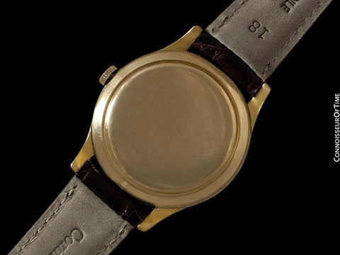 1961 IWC Vintage Mens Watch, Cal. 853 Automatic- 18K Gold Filled