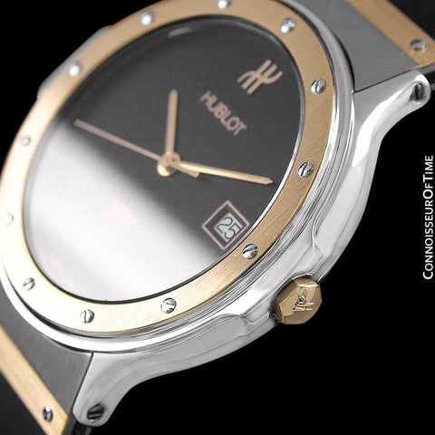 Hublot MDM Two-Tone Full Size Mens Watch - Stainless Steel & 18K Gold