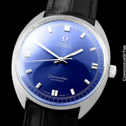 1960's Omega Vintage Mens Seamaster Cosmic Retro Cal. 552 Automatic Watch - Stainless Steel
