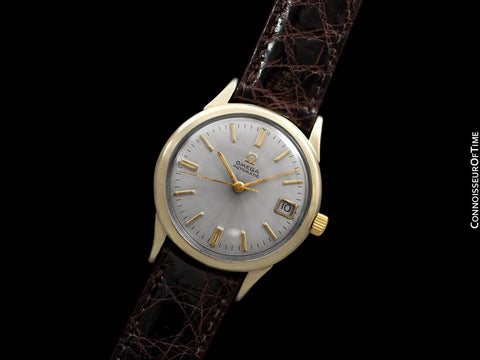 1965 Omega Seamaster Rare Cal. 560 Vintage Mens Watch, Automatic, Date - 10K Gold Filled & Stainless Steel
