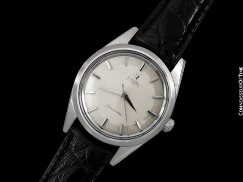 1960 Omega Seamaster Vintage Mens Very Rare Extra Large 38mm Watch - Stainless Steel