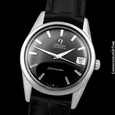 1962 Omega Seamaster Mens Vintage Watch with 562 Movement, Automatic, Date - Stainless Steel