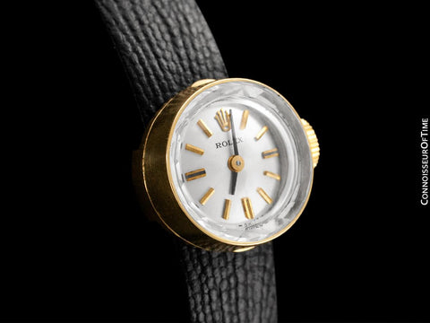 1960's Rolex Vintage Ladies Watch, 14K Gold - The Chameleon