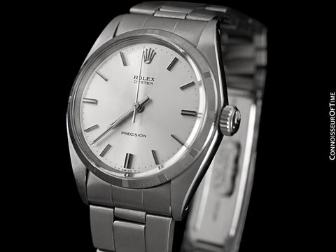 1972 Rolex Oyster Vintage Mens Watch, Stainless Steel - Classic Design