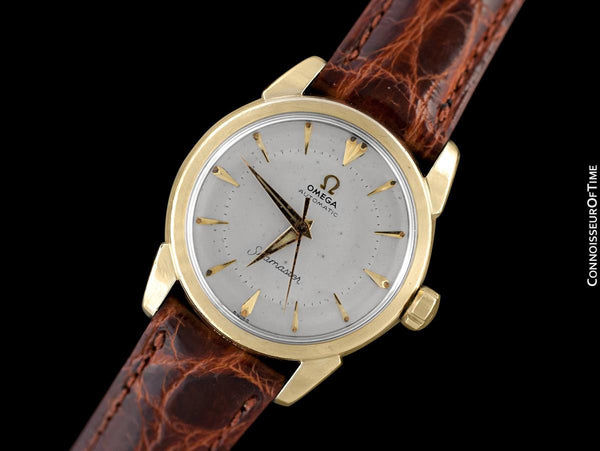 1959 Omega Vintage Midsize Mens 31.5mm Seamaster, Automatic - 14K Gold Filled