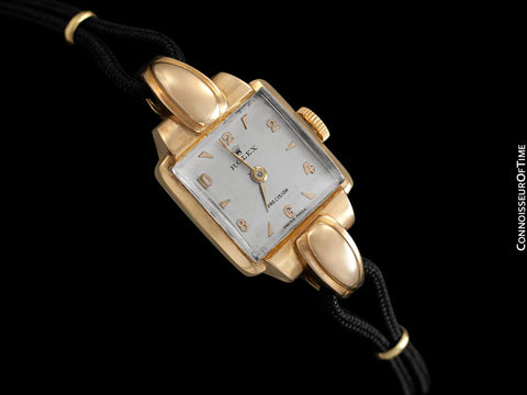 1947 Rolex Vintage Ladies Dress Watch - 18K Rose Gold