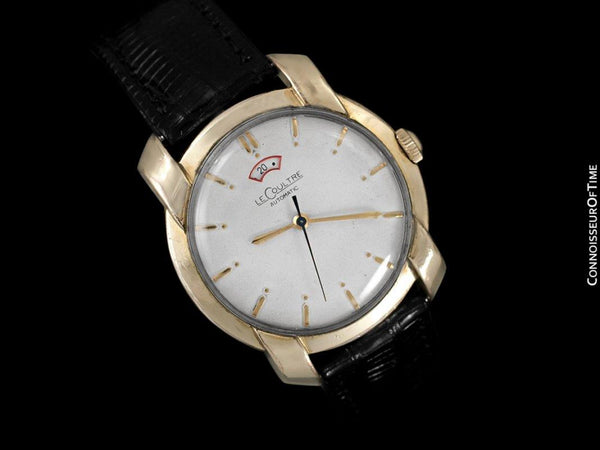 1953 Jaeger-LeCoultre Vintage Powermatic Watch, 10K Gold Filled - The Nautilus S