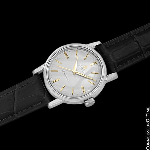 1959 Omega Seamaster Vintage Mens Seamaster Cal. 520 Handwound Watch - Stainless Steel