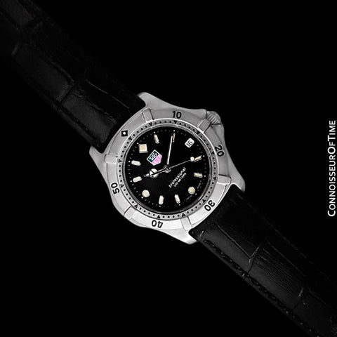 TAG Heuer Professional 2000 Mens Diver Watch, WE1110-2 - Stainless Steel