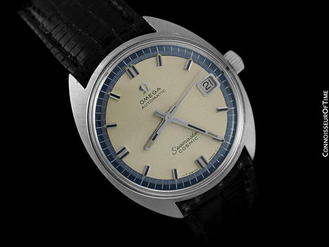 1960's Omega Vintage Mens Seamaster Cosmic with Date, Caliber 563/565 - Stainless Steel