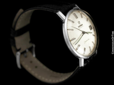 1962 Omega Seamaster Vintage Mens Rare Cal. 560 Watch, Automatic, Date - Stainless Steel