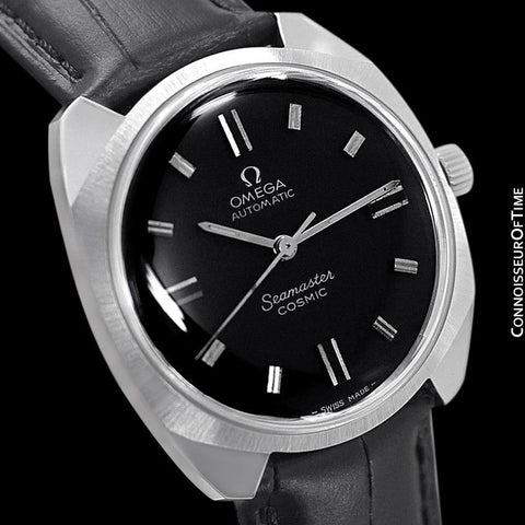1969 Omega Vintage Mens Seamaster Cosmic Retro Automatic Date Watch Cal. 552 - Stainless Steel