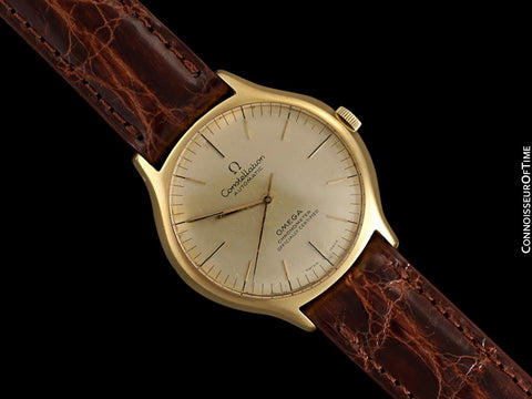 1973 Omega Constellation Mens Automatic Chronometer Watch - 18K Gold