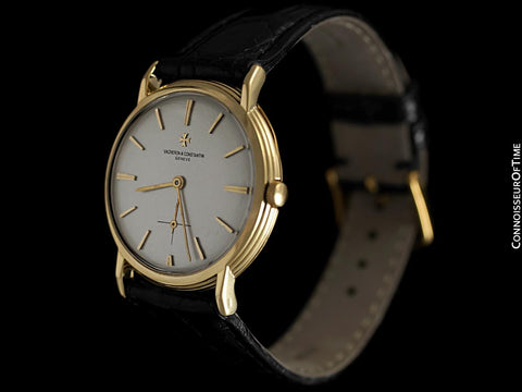 1960's Vacheron & Constantin Vintage Mens Watch with Tiered Case, Cal. K1001 - 18K Gold