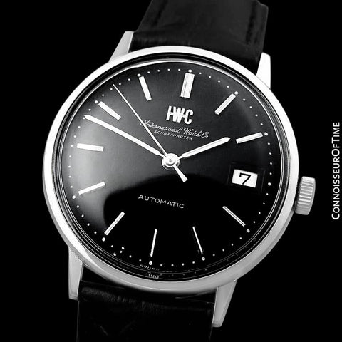 1970 IWC Vintage Mens Full Size Watch, Cal. 8541 Automatic with Date - Stainless Steel