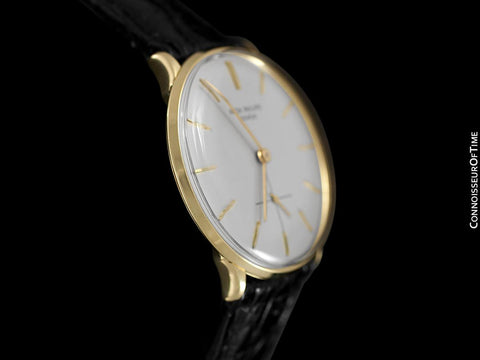 1960 Patek Philippe Vintage Mens Handwound Watch, Ref. 2573 - 18K Gold