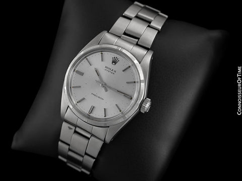 1970 Rolex Oyster Vintage Mens Watch, Stainless Steel - Classic Design