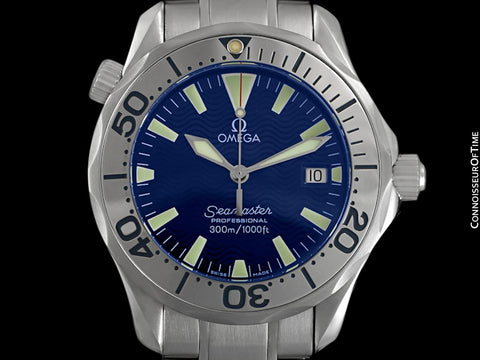 Omega Seamaster Midsize 300M Professional Diver (James Bond Style), Stainless Steel - 2263.80