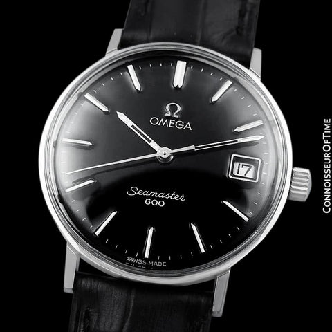 1960's Omega Vintage Mens Handwound Watch - Stainless Steel