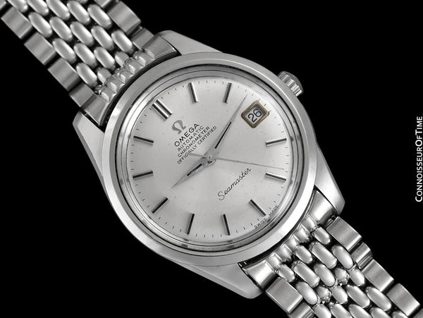 1969 Omega Seamaster Chronometer Vintage Mens Cal. 564 Watch - Stainless Steel