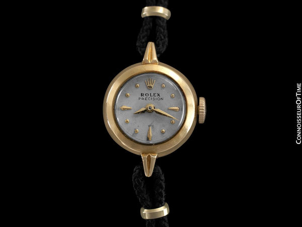 1953 Rolex Precision Vintage Pre-Cellini Ladies Watch, Ref. 8916 - 18K Gold