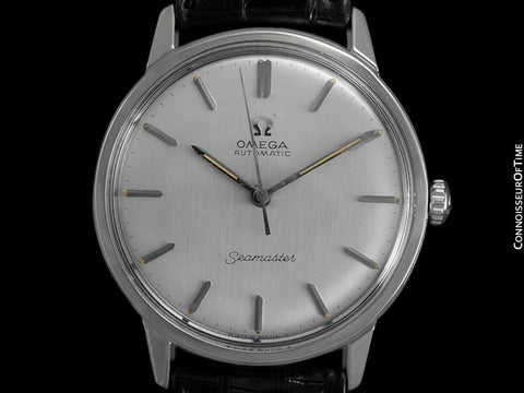 1967 Omega Seamaster Vintage Mens Automatic Caliber 552 Watch - Stainless Steel
