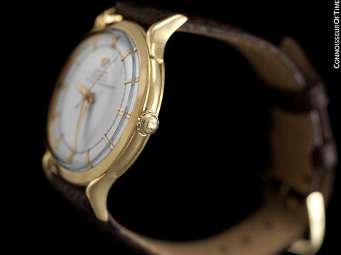 1951 Omega Vintage Pre-Constellation Chronometer (Sometimes called Globemaster) Ref. 14311 - 18K Gold