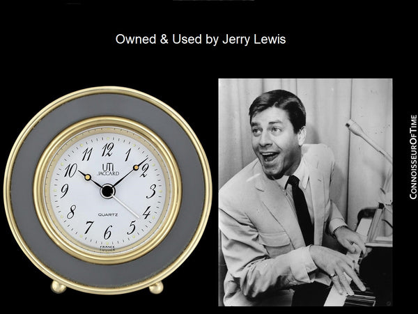 UTI Jaccard Vintage Travel Alarm Clock - Owned & Used by Jerry Lewis