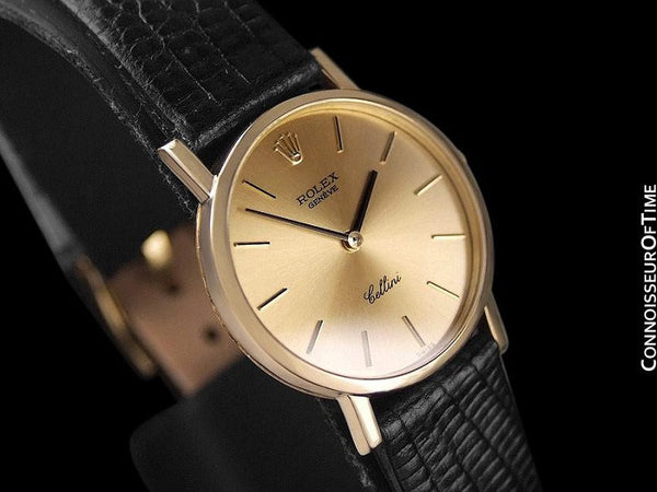 Rolex Cellini Ladies Watch, Ref. 4109 - 18K Gold