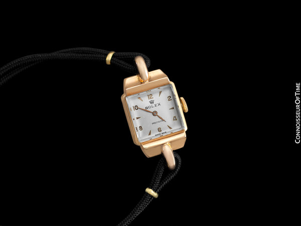 1948 Rolex Vintage Ladies Dress Watch - 18K Rose Gold