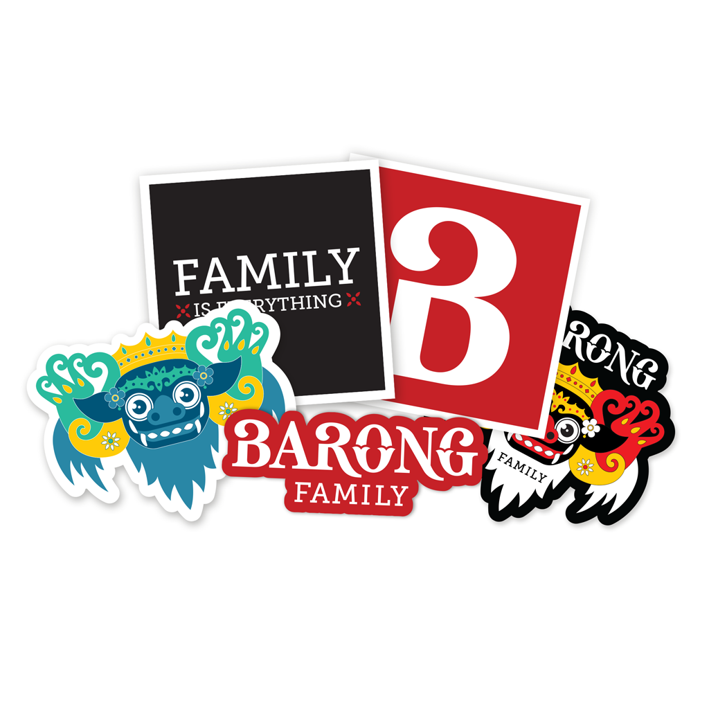 BARONG FAMILY STICKERPACK