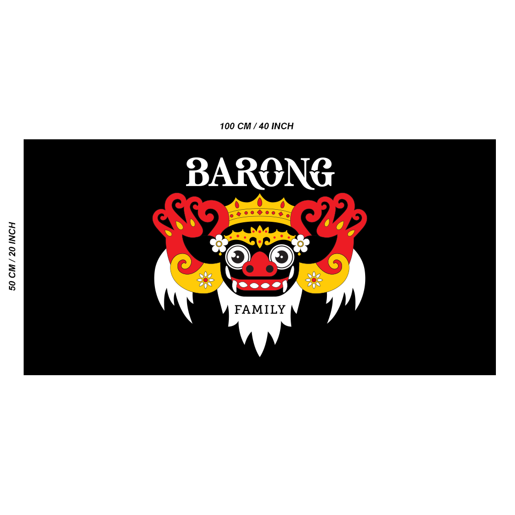 BARONG FAMILY TO-GO FLAG