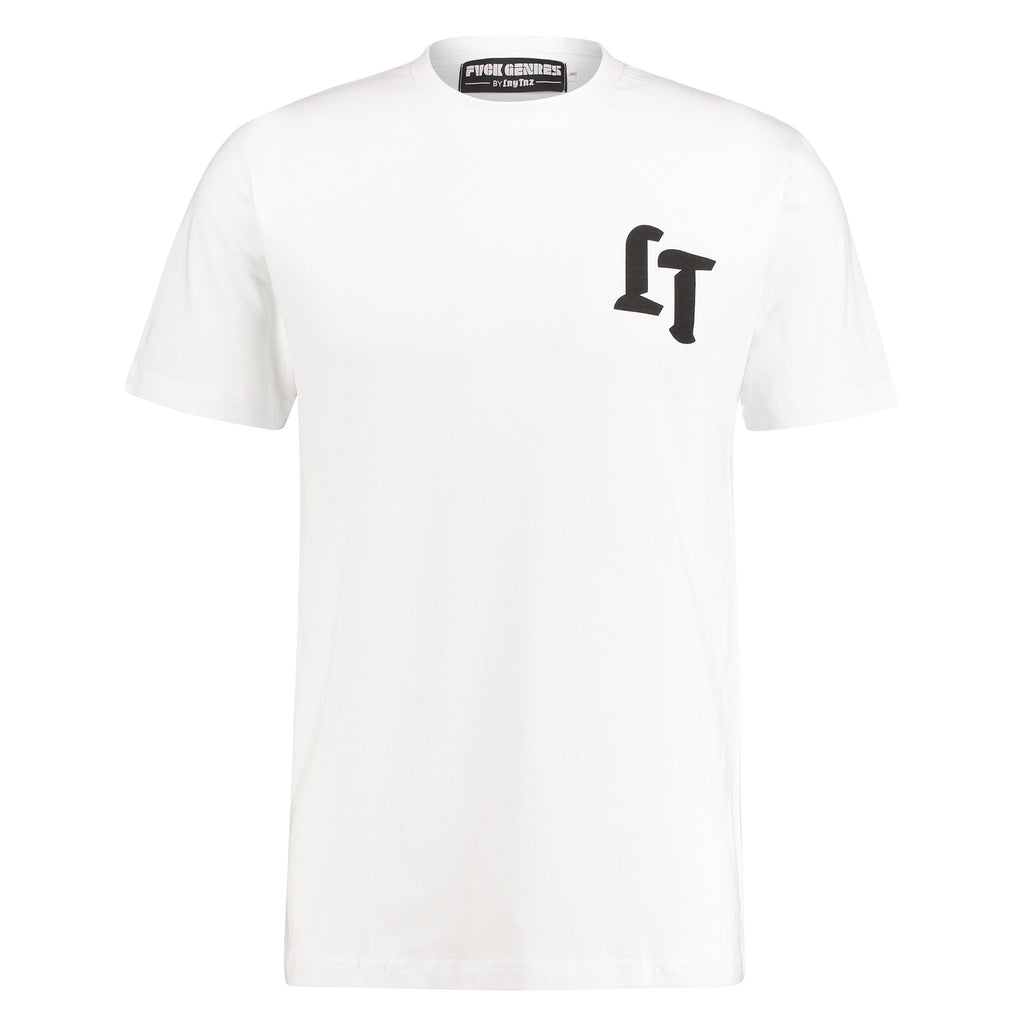LNY TNZ FVCK GENRES WHITE TEE