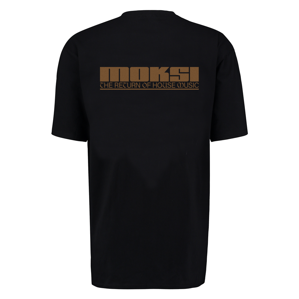 MOKSI RETURN OF HOUSE MUSIC COVER TEE