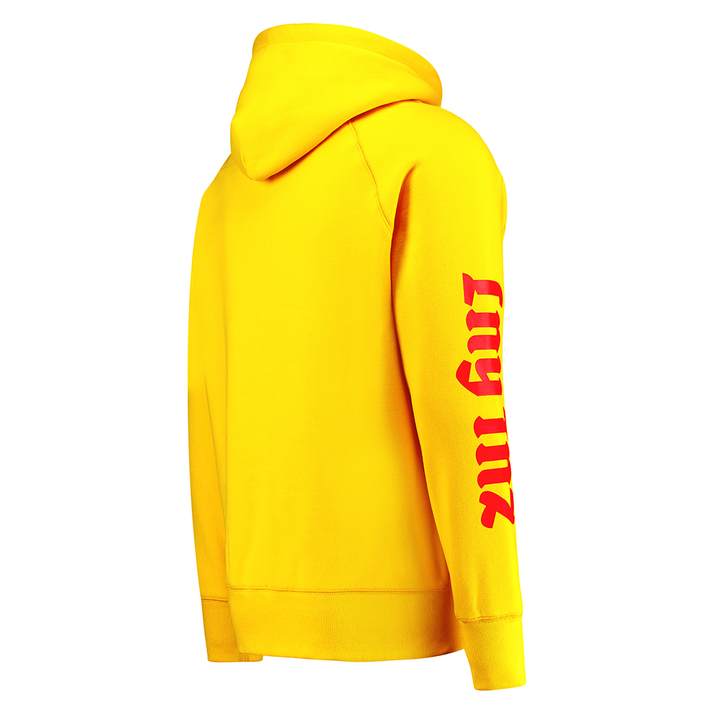 LNY TNZ FVCK GENRES YELLOW HOODIE