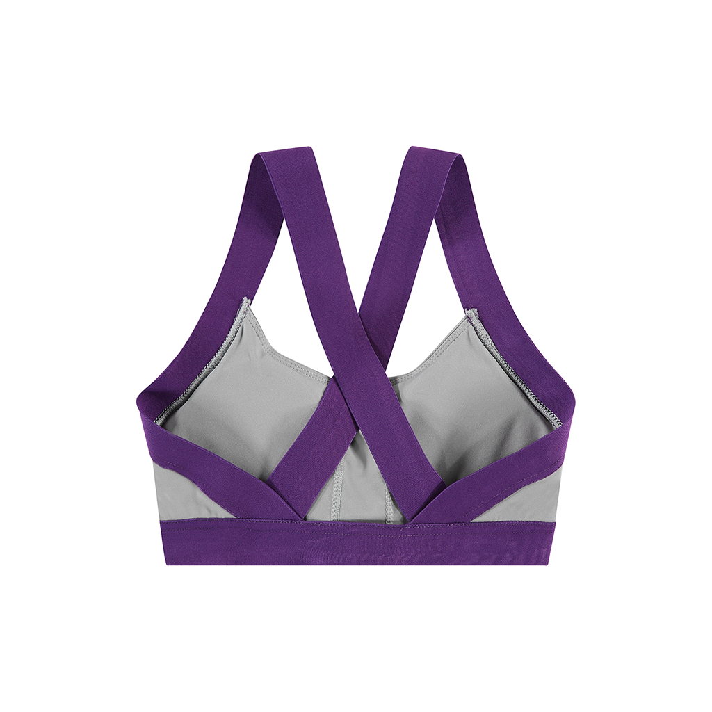 MOKSI GREY SPORTS BRA